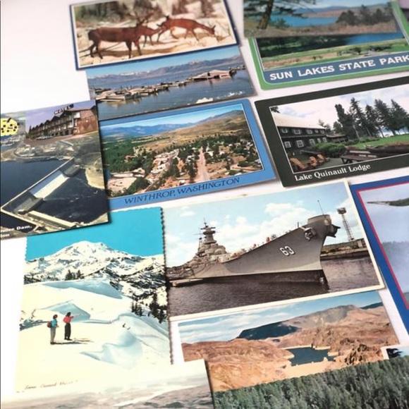 Washington State Postcard 18PC Vintage Postcards